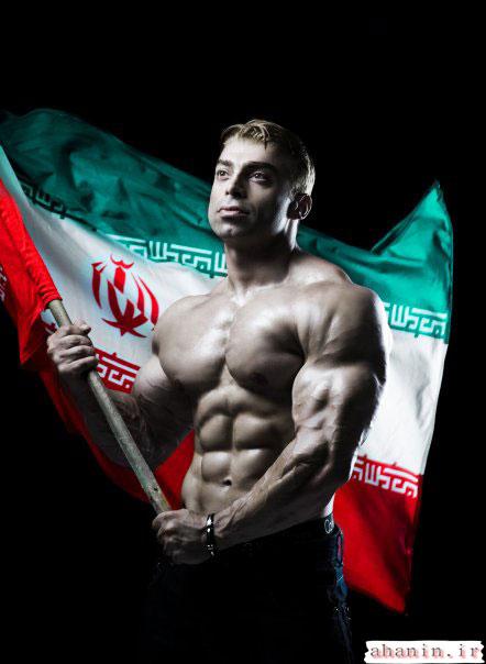 بهترین عکسهای بدنسازان ایرانی سامان سرابی