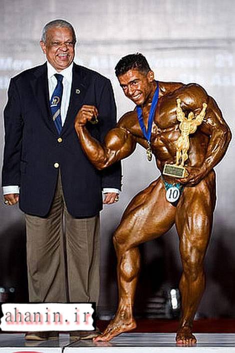 بیت الله عباسپور قهرمان آسیا