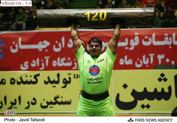 محمد محمدی در قویترین مردان جهان