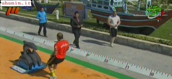 عکسهای فرامرز رحمانی در مسابقات مردان آهنین 1390